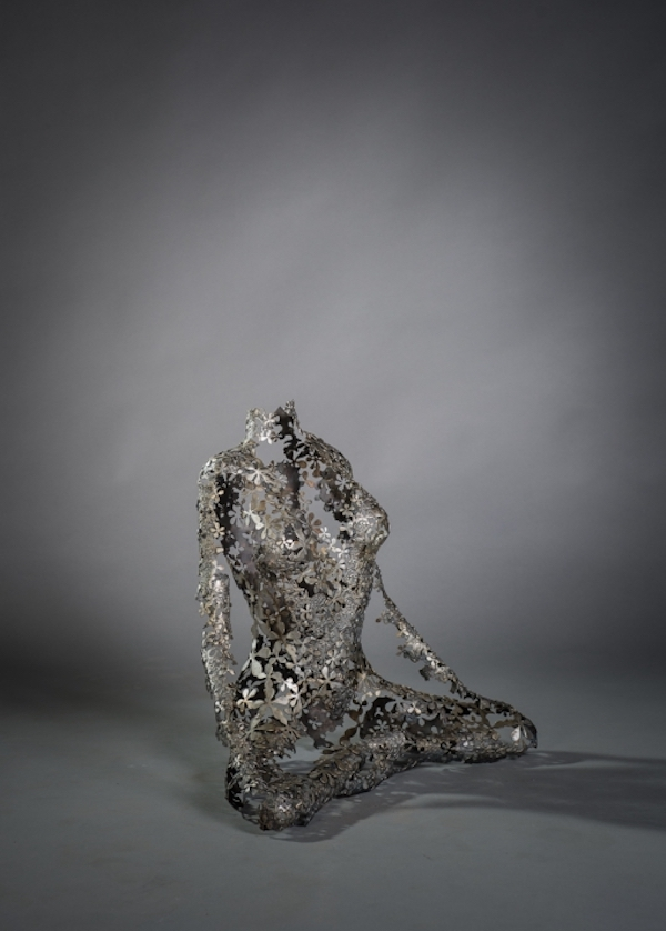 Aradhis (2017) 50 x 34 x 37 cm, Forged iron