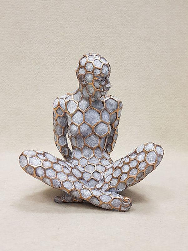 'Diksa (A1909)' (2018), 26,5 x 23,5 x 21 cm, Bronze with patina, ed. 16/100