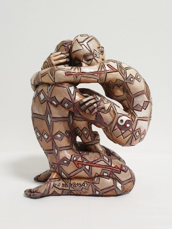 'Komorebi (A1825)' (2020), 26 x 22 x 12,5 cm, Painted bronze, ed. 1/6