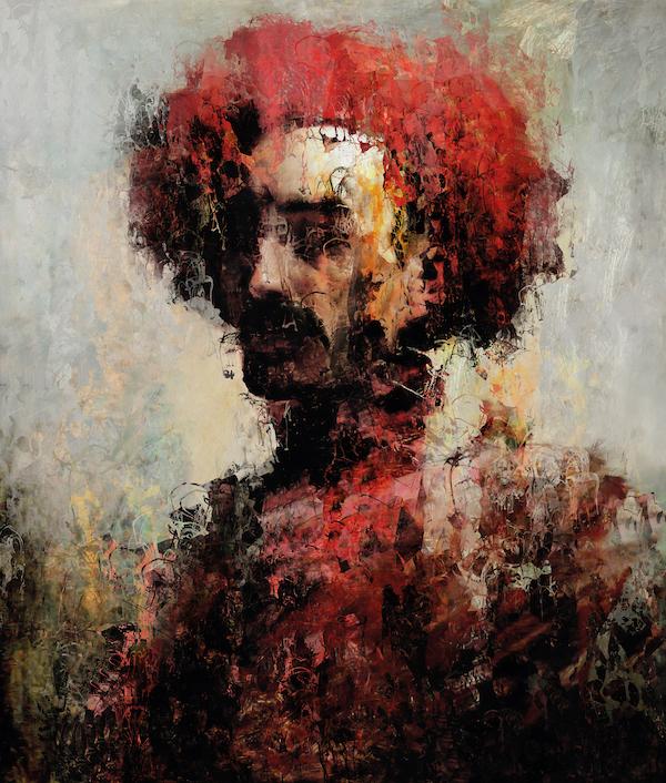 Cristóbal (2021) 160 x 120 cm, Paintograph, ed. 1/8