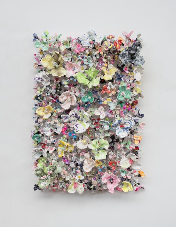 'Flower Bonanza' (2020), 150 x 100 x 30cm, Oil plastic