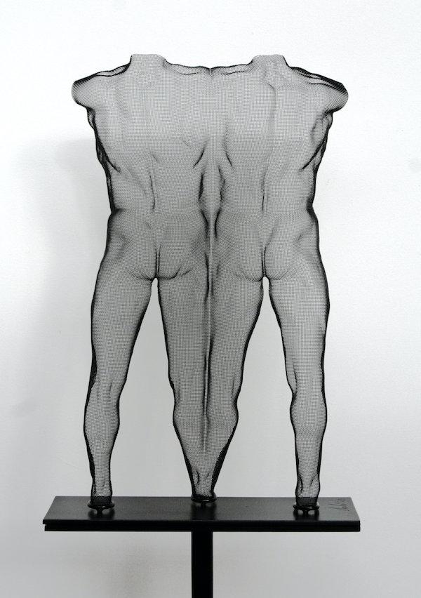 UUME (2020) 53 x 33 x 12,5 cm, Steelmesh