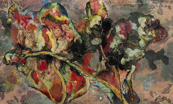 'Jvs20905' (2020) 90 x 50 cm, Oil and acrylic on a rag