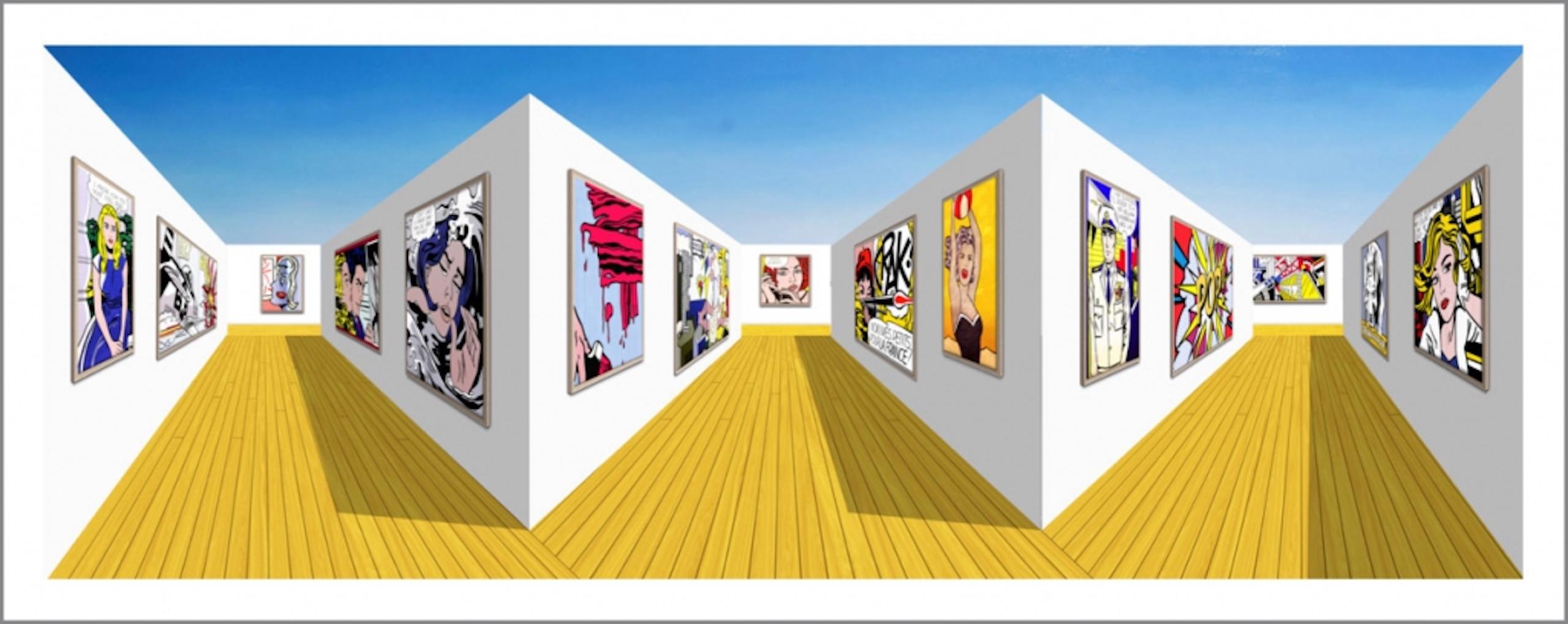 MAYBE (Roy gallery) (2020) 92 x 39 x 19 cm, Mixed media