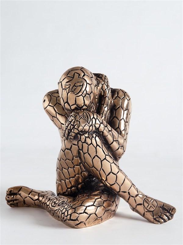 'Sowelu (A1726)' (2012), 22 x 26 x 16,5 cm, Bronze, ed. 23/100