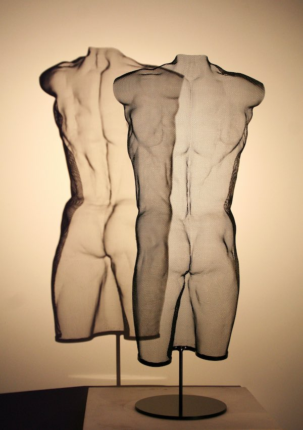 TORSE (2020) 80 x 34 x 20,5 cm, Steelmesh