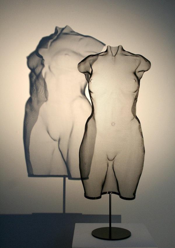 TORSOH (2020) 99 x 40 x 20,5 cm, Steelmesh