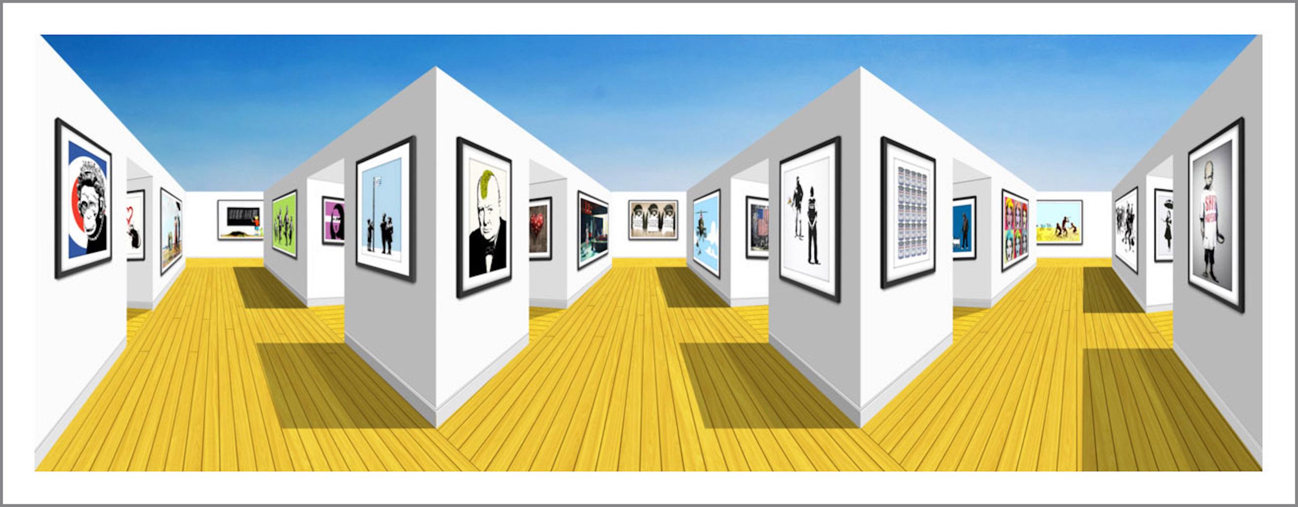 WINSTON (Banksy gallery) (2021)92 x 39 x 19 cm, Mixed media